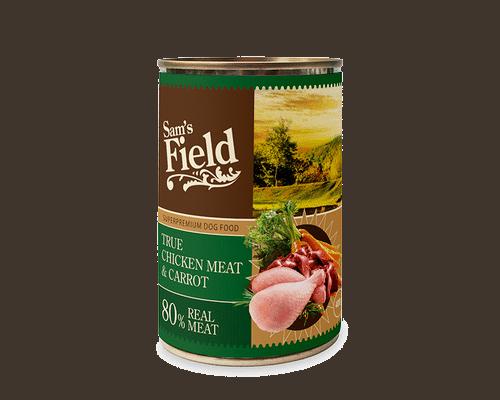 Πλήρης Τροφή σε Υγρή Μορφή-Κοτόπουλο και καρρότο