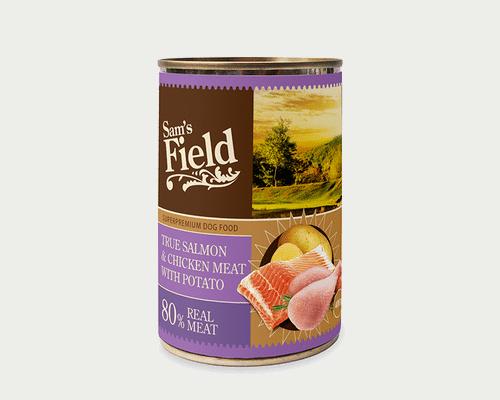 Πληρης τροφη σε υγρη μορφη-Σολομός & Κοτόπουλο
