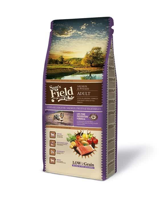 Sam's Field Low Grain – Adult Σολομός & Πατάτα