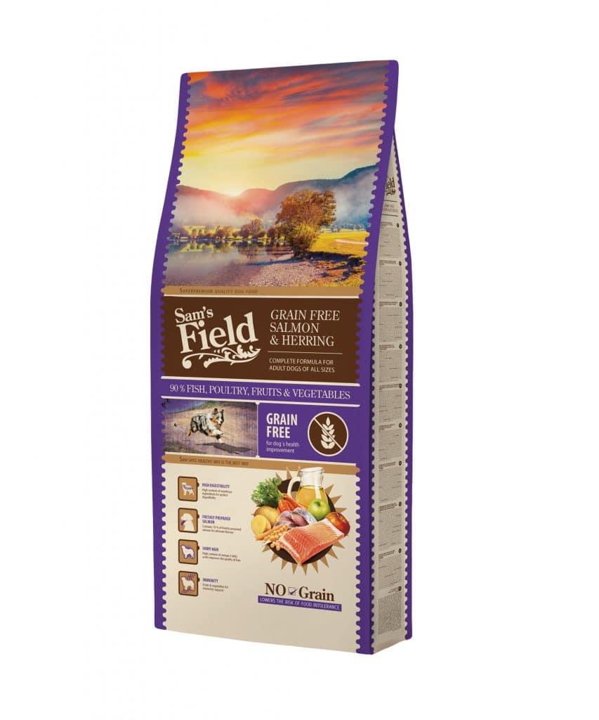 Sam's Field Grain Free Σολομός και Ρέγγα